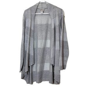Chico's Open-front Longsleeves Cardigan Size 3